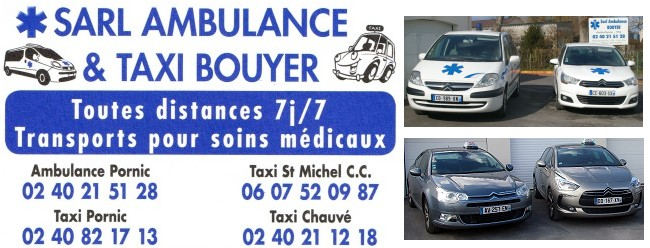 Taxi Bouyer - Pornic