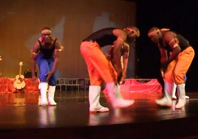 20/10/2014 Stage � Gumboot Dance � A La Bernerie en Retz !!!