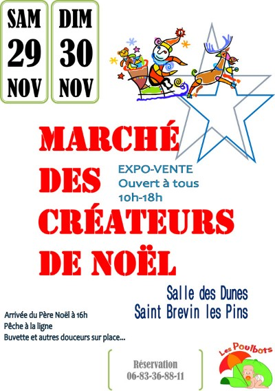 30/11/2014 March� de No�l � Saint Br�vin