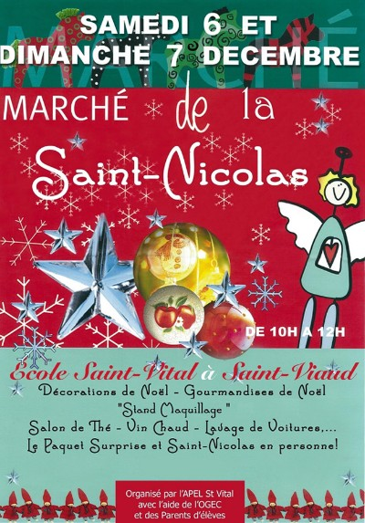 07/12/2014 March� de la Saint Nicolas � Saint Viaud
