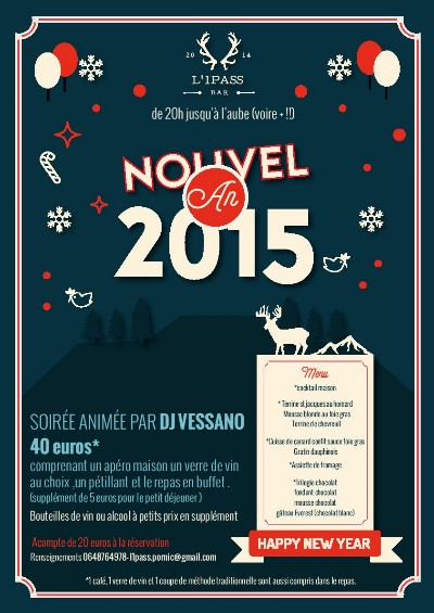 31/12/2014 Le Nouvel An � l ' 1Pass � Pornic