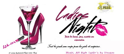 08/01/2015 Soir�e �Ladies Night� � l' 1Pass � Pornic