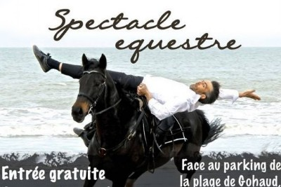 07/08/2016 Spectacle Equestre  � Saint Michel Chef Chef