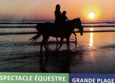 27/08/2016 Spectacle Equestre � Saint Michel Chef Chef