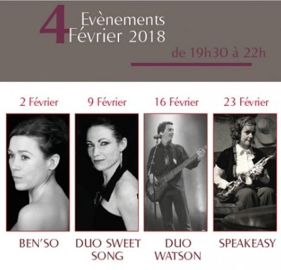 23/02/2018 Concert «Speak Easy» à Pornic