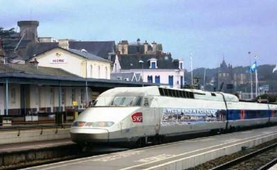Pornic - 07/10/2013 - Ligne SNCF Pornic-Nantes : un TGV à Pornic ?